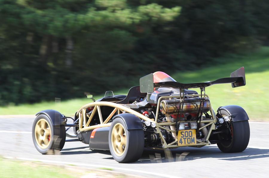 Ariel Atom V8 rear