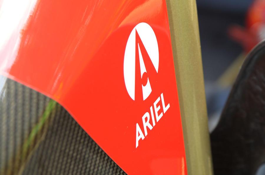Ariel Atom V8 decals