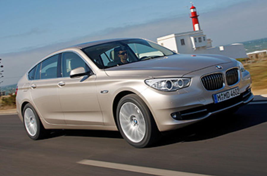 BMW 5 Series GT front quarter