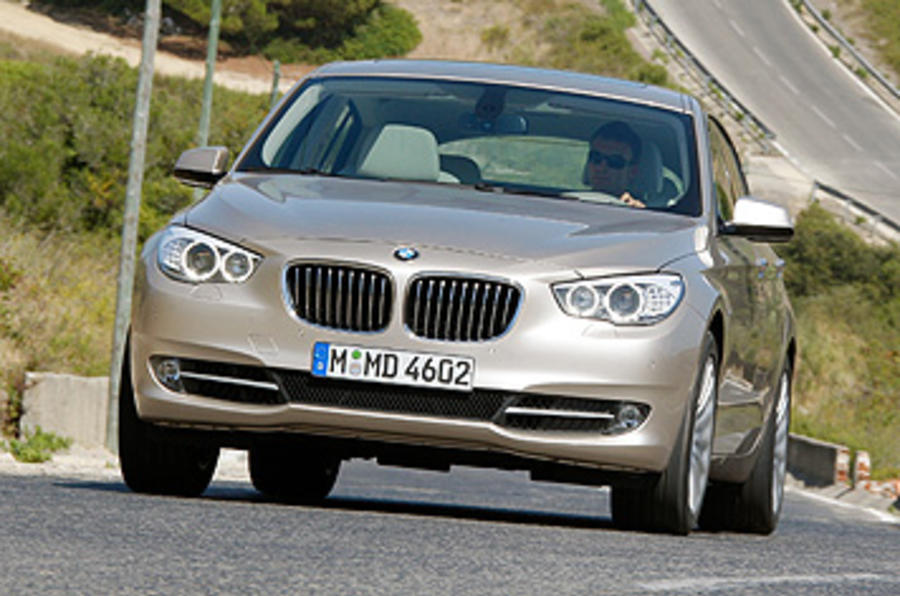 BMW 5 Series GT front end