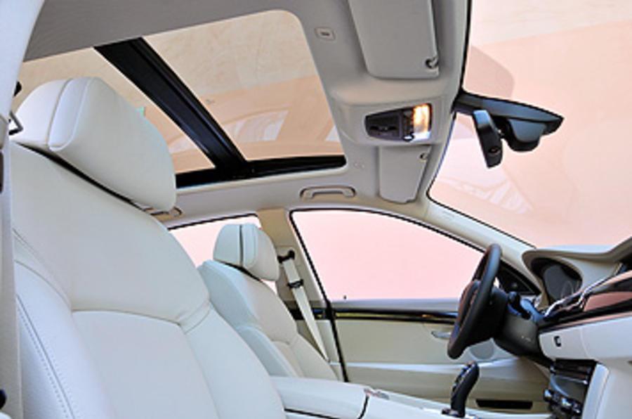 BMW 5 Series GT sunroof