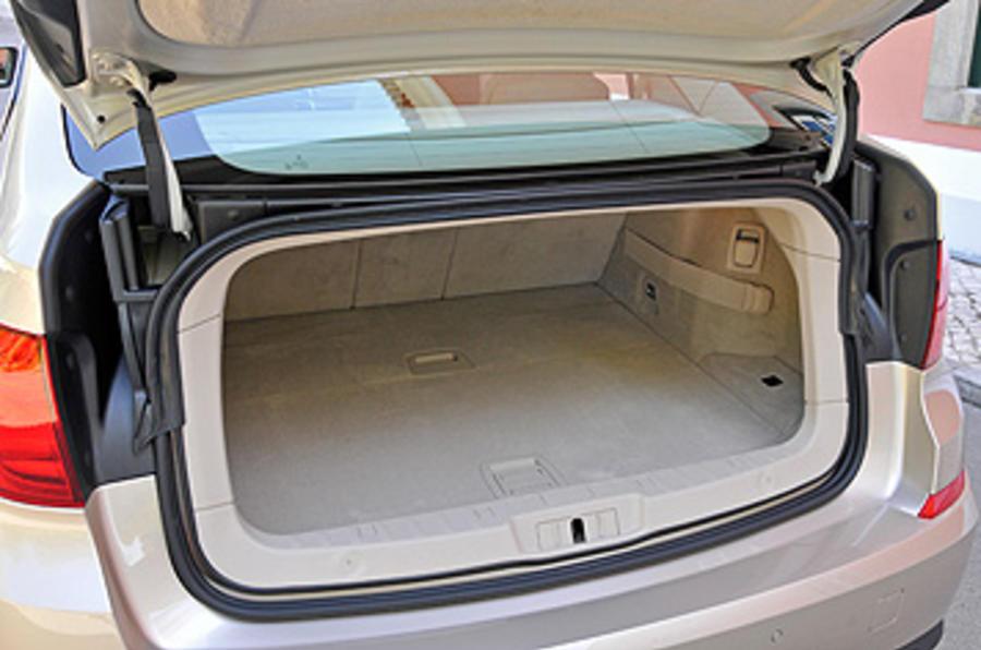 BMW 5 Series GT boot hatch