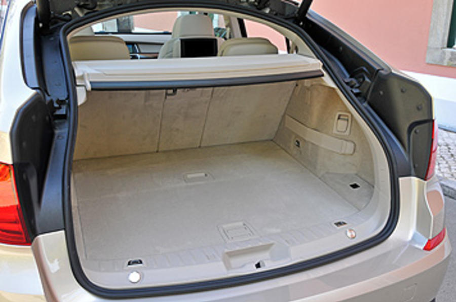 BMW 5 Series GT boot space