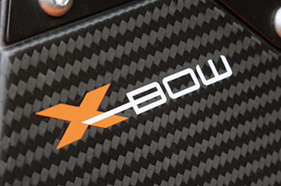 KTM X-Bow badging