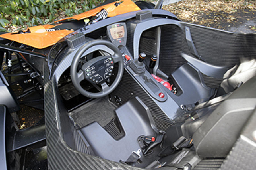 KTM X-Bow 300 interior