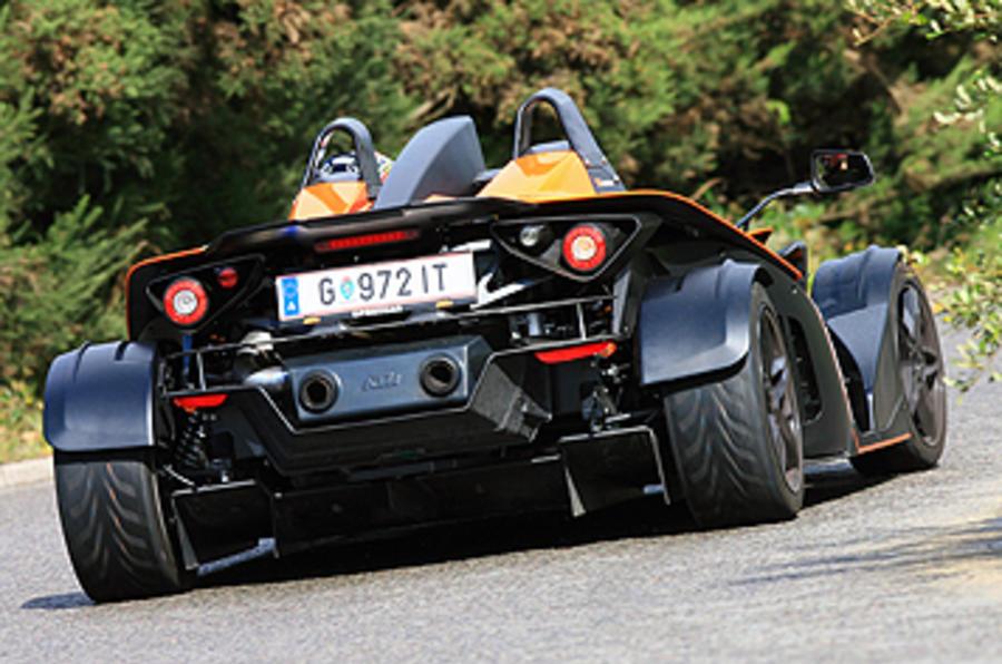 KTM X-Bow 300 rear cornering