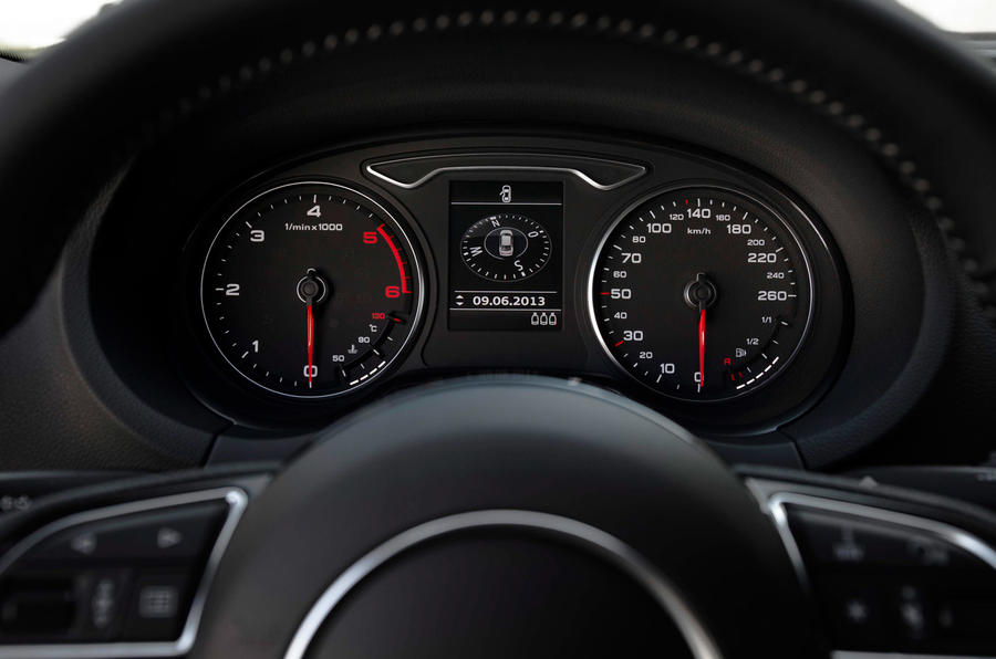 Audi A3 Saloon instrument cluster