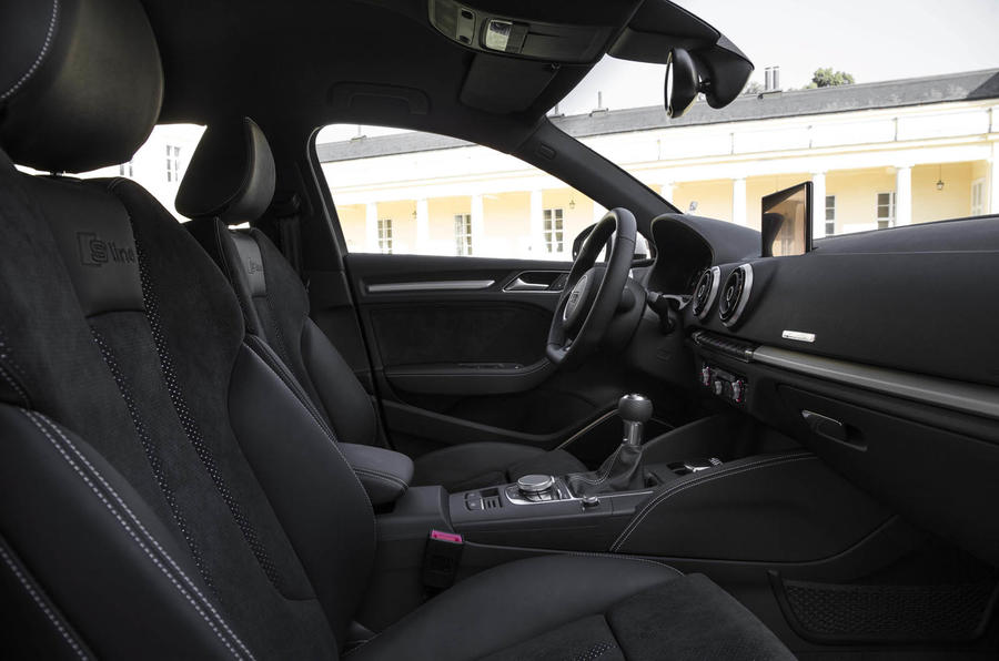 Audi A3 Saloon's front seats