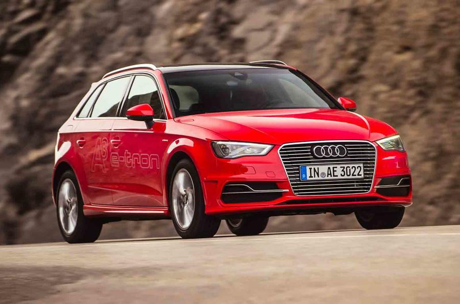 Driving Audi's A3 Sportback e-tron in LA