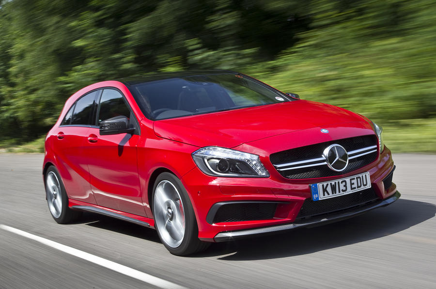 Mercedes Benz A45 Amg Review 2019 Autocar