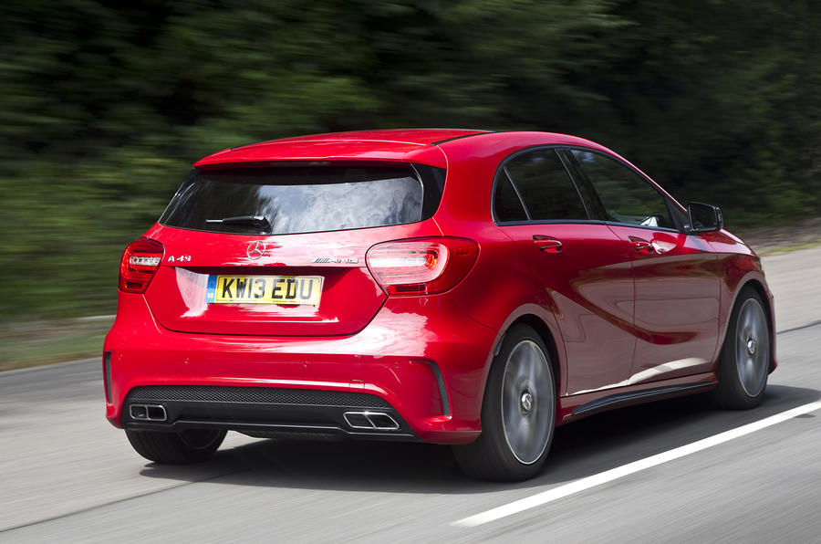 Mercedes-AMG A 45 rear quarter