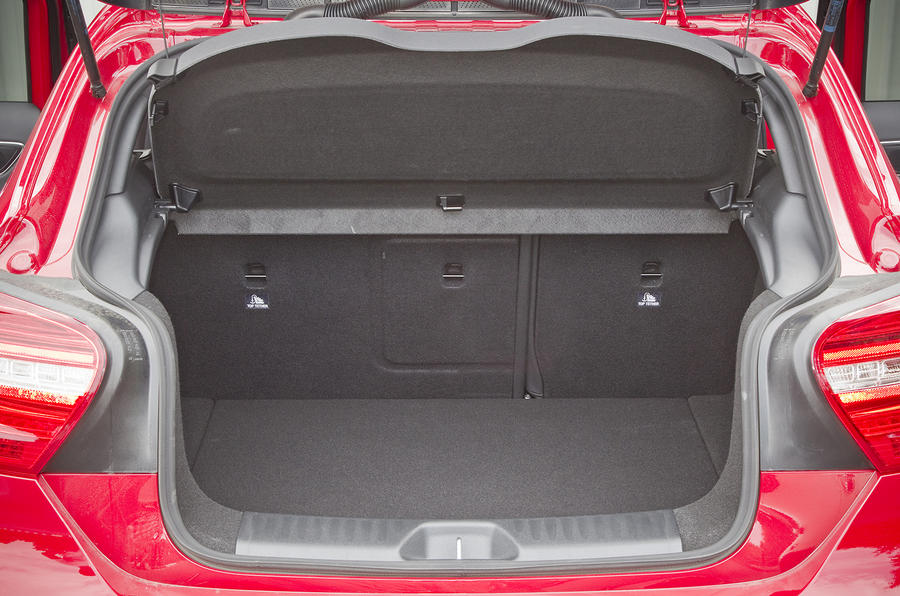 Mercedes-AMG A 45 boot space
