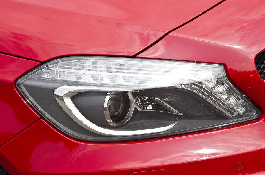 Mercedes-AMG A 45 xenon lights