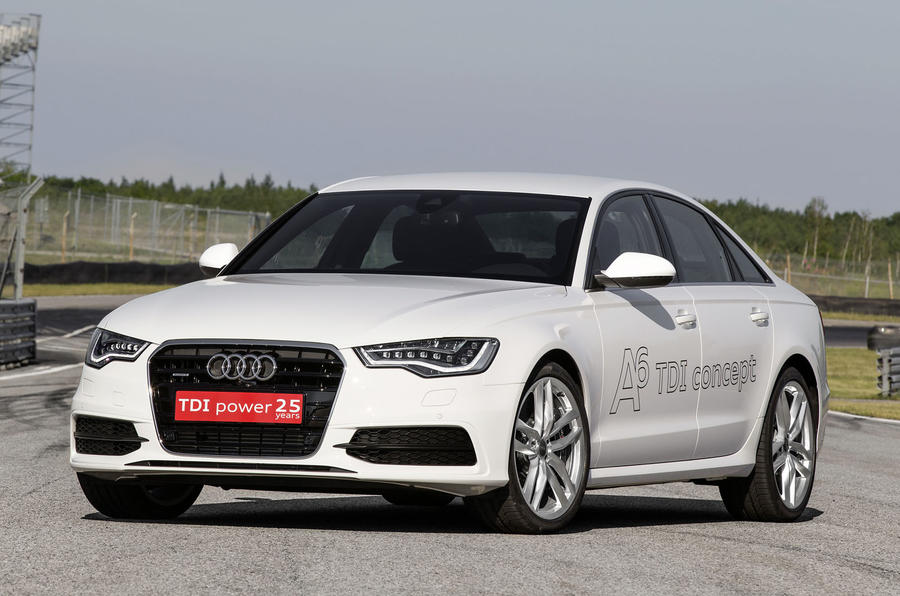 Audi A6 TDI concept first drive review