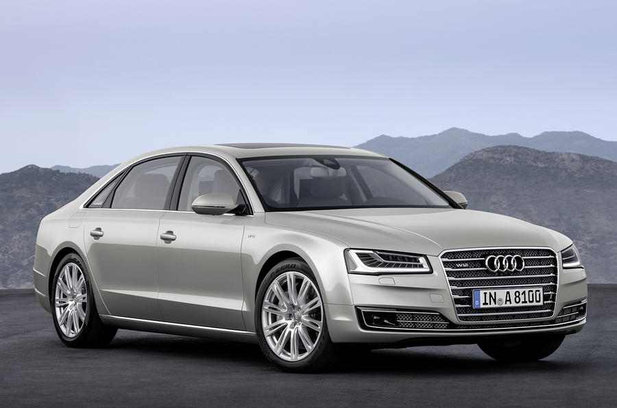 Facelifted Audi A8 gets more power