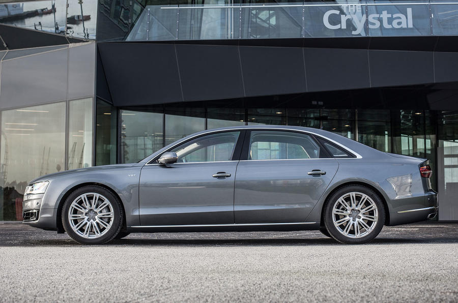 Audi A8 4.2 TDI UK first drive review