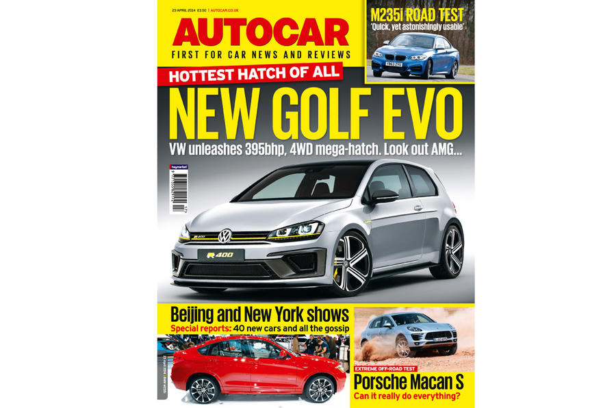 Autocar magazine preview 23 April