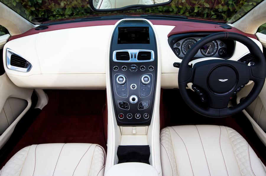 Aston Martin Vanquish Volante Uk First Drive