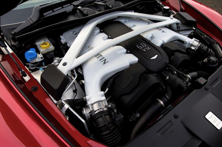 Aston Martin Vanquish Volante engine bay