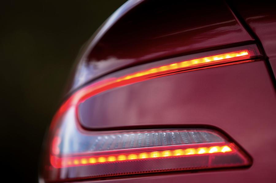 Aston Martin Vanquish tailight