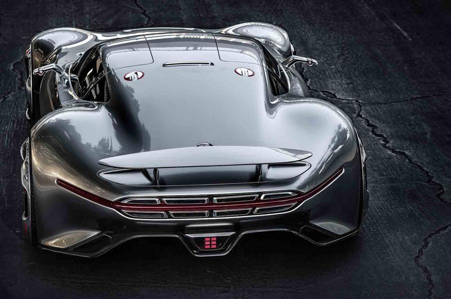 Mercedes AMG Vision Gran Turismo concept unveiled
