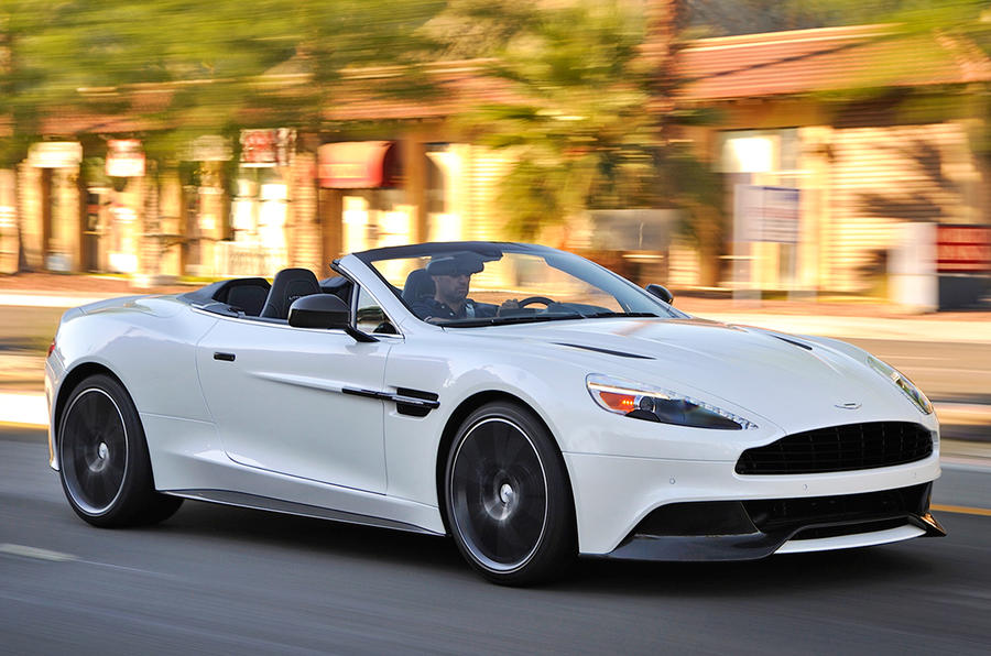 aston martin vanquish volante review 2017 autocar. Black Bedroom Furniture Sets. Home Design Ideas