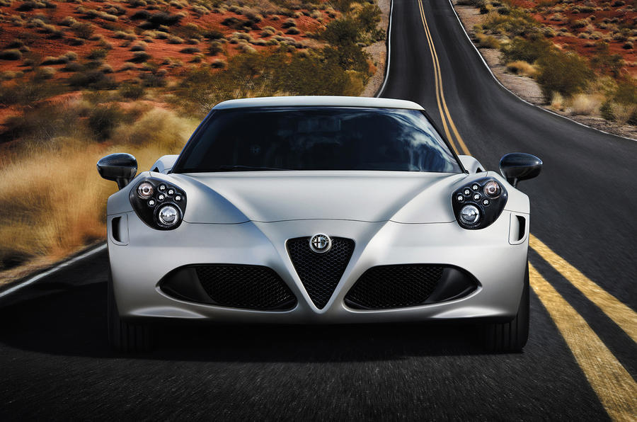 Alfa Romeo 4C - full technical details