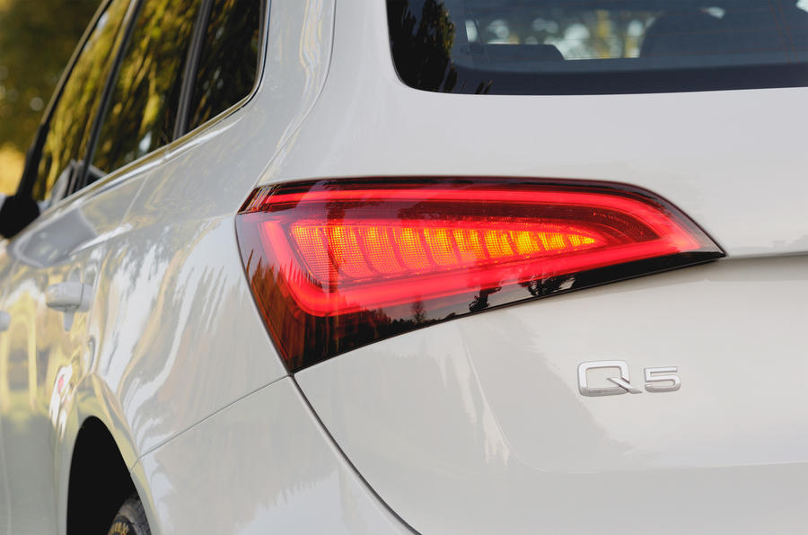 Audi Q5 rear lights