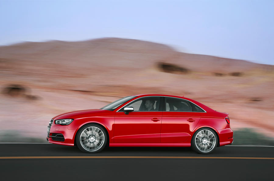 Audi S3 saloon first drive review