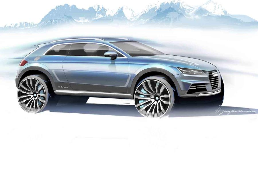 Audi reveals new crossover concept