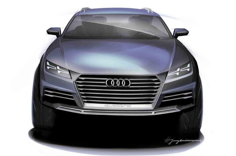 Audi reveals new crossover concept