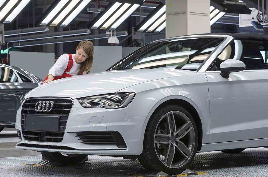 Quick news: Audi A3 starts production, New Honda F1 engine