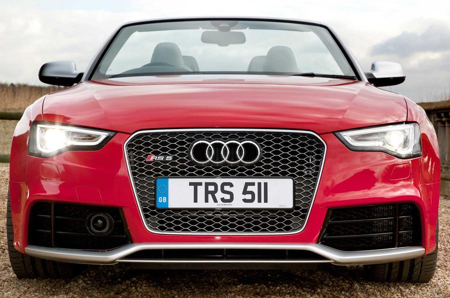 Audi RS5 Cabriolet front end