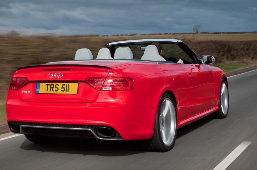 Audi RS5 Cabriolet rear