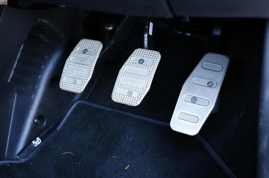 Abarth 595 aluminium sport pedals