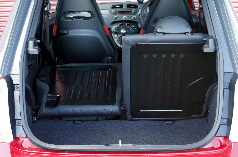Abarth 595 boot space