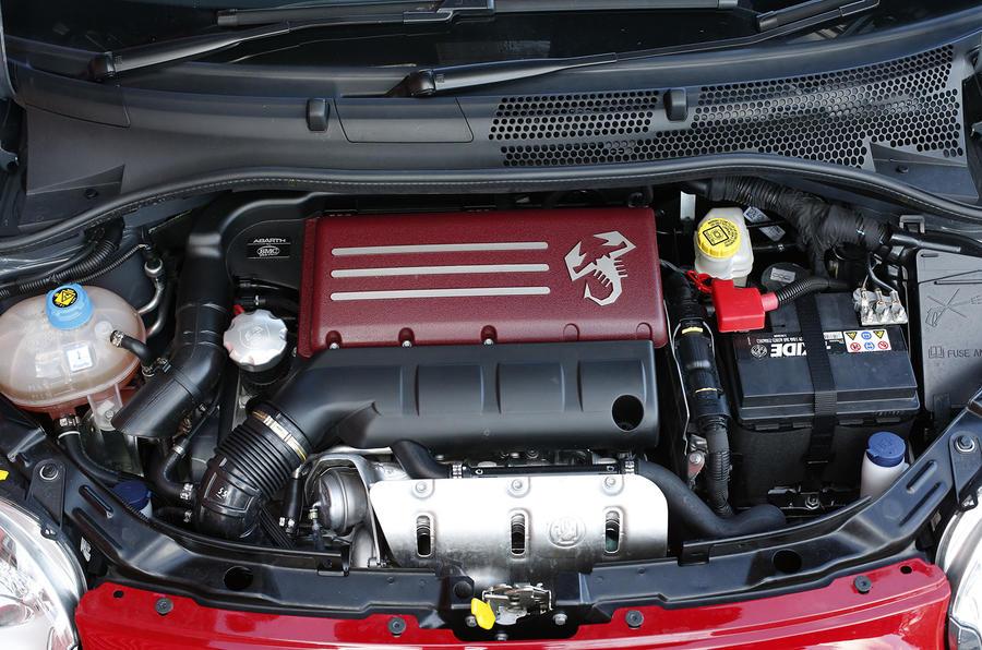 Abarth 595 1.4-litre turbo petrol engine