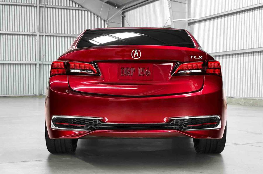 Acura TLX concept shown in Detroit