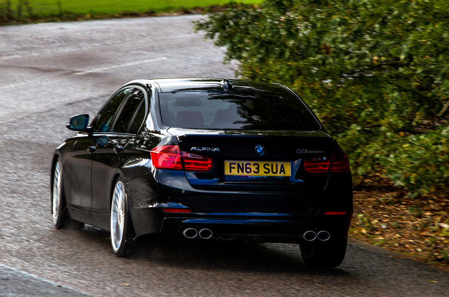 The fast and economical Alpina D3