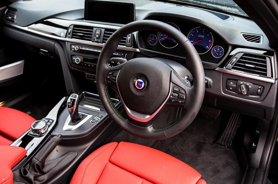 Alpina D3's interior