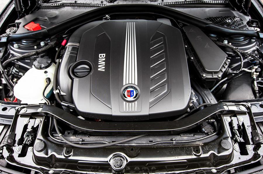 Alpina D3's 3.0-litre turbodiesel