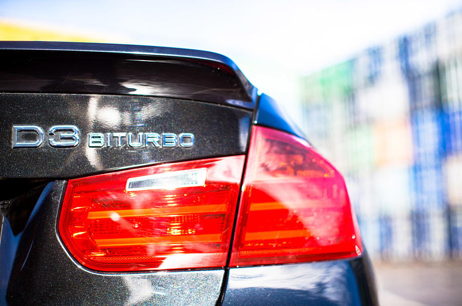 Alpina D3 Biturbo's badging