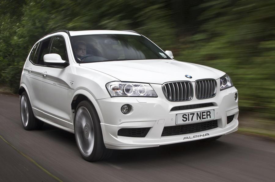 Alpina XD3 uses BMW's 8-speed auto