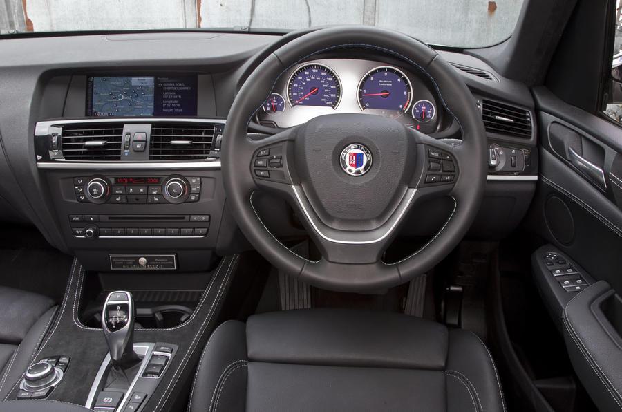 Alpina XD3 interior