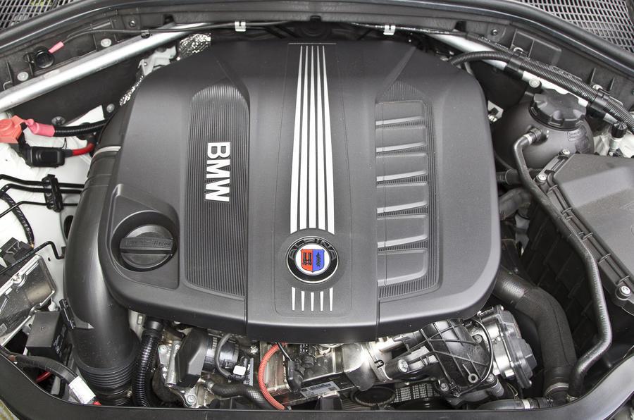 Alpina XD3's 3.0-litre twin-turbocharged engine