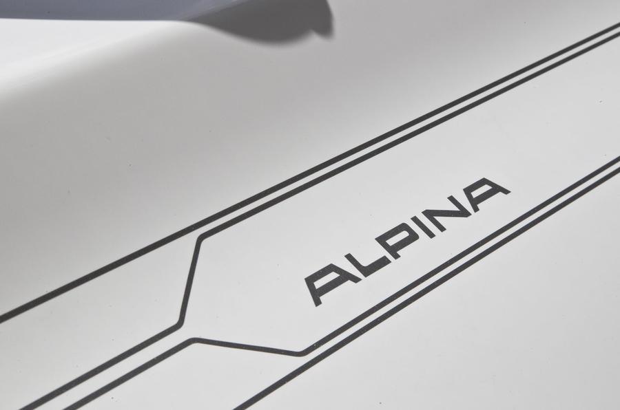 Alpina decals on the XD3