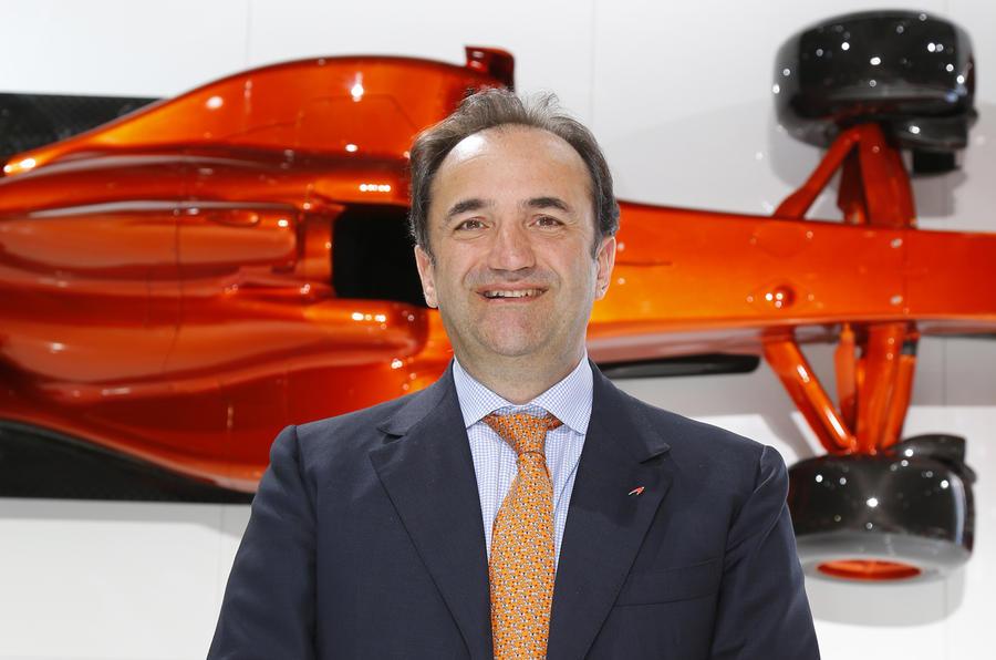 Former McLaren boss suing for wrongful dismissal