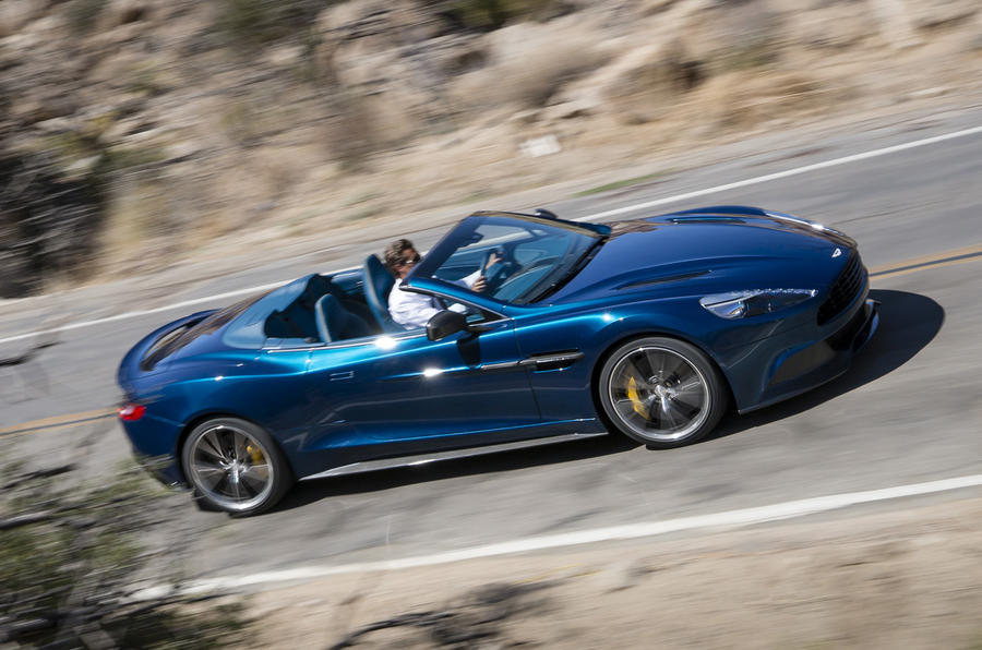 Aston Martin Vanquish Volante to launch at Pebble Beach