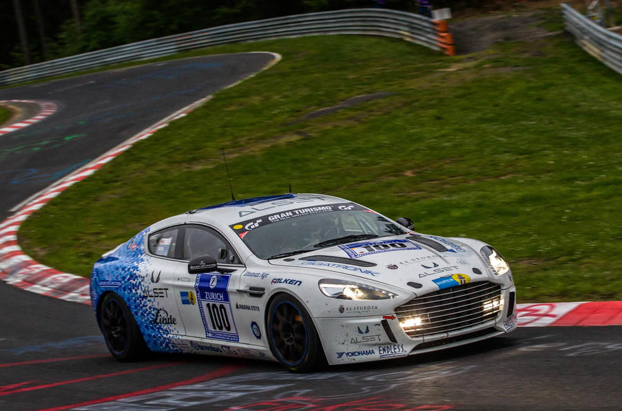 Aston Martin made a big impact at the Nürburgring 24 Hours