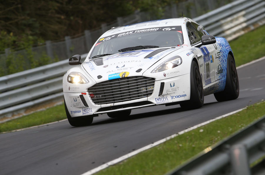 Aston Martin makes history with Hybrid Hydrogen Rapide S